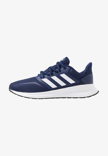 RUNFALCON - Neutrální běžecké boty - dark blue/ftwr white/core black