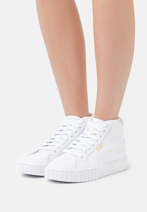 CALI STAR MID  - High-top trainers - white/team gold