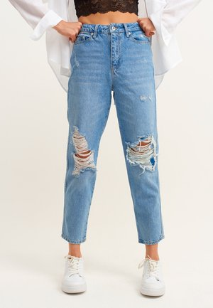Jeans Tapered Fit - light destroyed