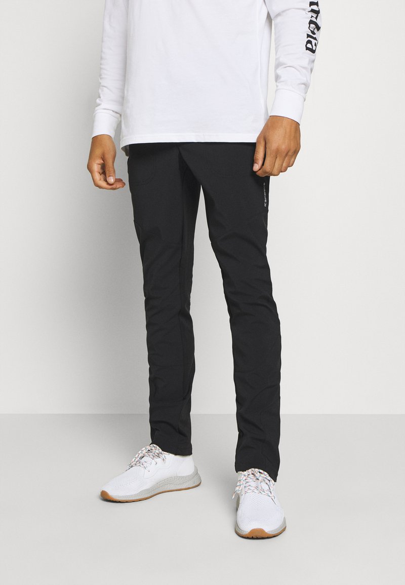 Icepeak - DORR - Spodnie materiałowe - black