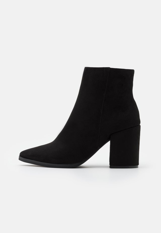 AMINA HELLED - High heeled ankle boots - black