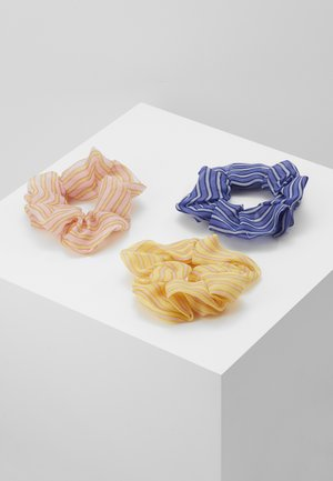 PCMARLY SCRUNCHIE 3 PACK - Hair Styling Accessory - misty rose