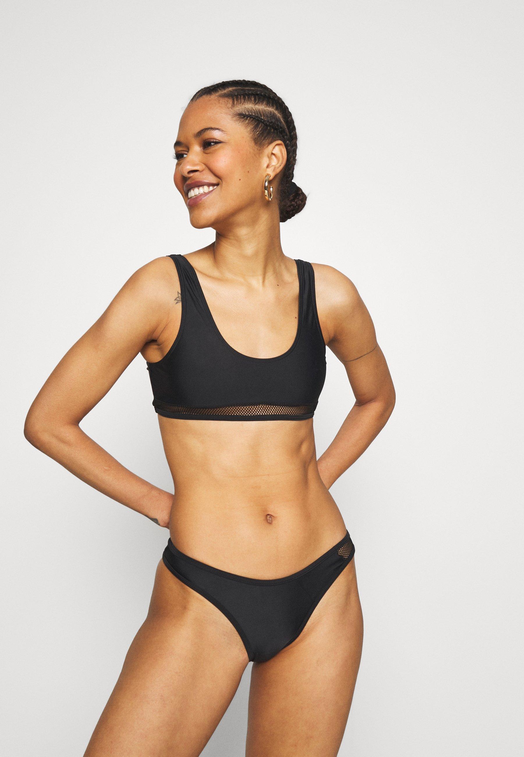 Femme SCOOP FISHNET INSERT - Bikini