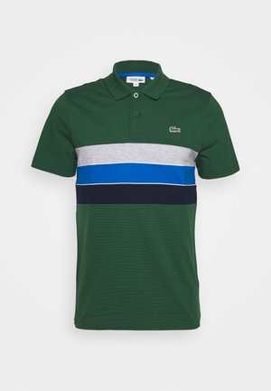 RAINBOW STRIPES - Polotričko - green/navy blue-utramarine/silver chine/white