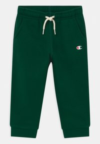Champion - BASIC LOGO TODDLER CREWNECK SET UNISEX - Tracksuit - dark green - 2