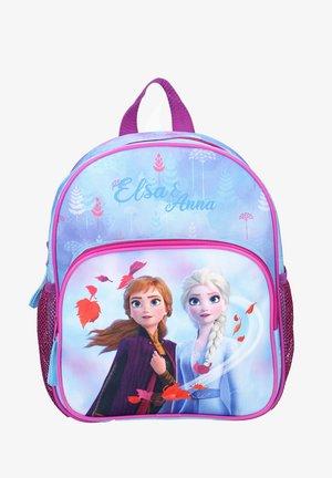 School bag - light blue/purple