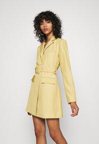 4th & Reckless - BLAZER DRESS - Shirt dress - pistachio - 4