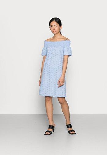 ONLNEW SHERY LIFE DRESS - Day dress - blue heron
