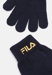 Fila - BASIC GLOVES UNISEX - Rukavice - black iris - 1
