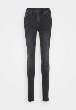 VMHANNA - Jeans Skinny - dark grey denim