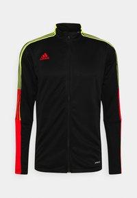 adidas Performance - TIRO - Chaqueta de entrenamiento - black/red - 0