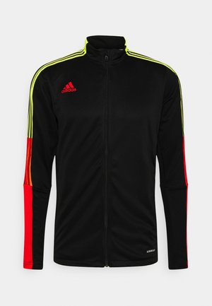 TIRO - Training jacket - black/red