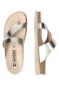 Mephisto - T-bar sandals - metall - 3