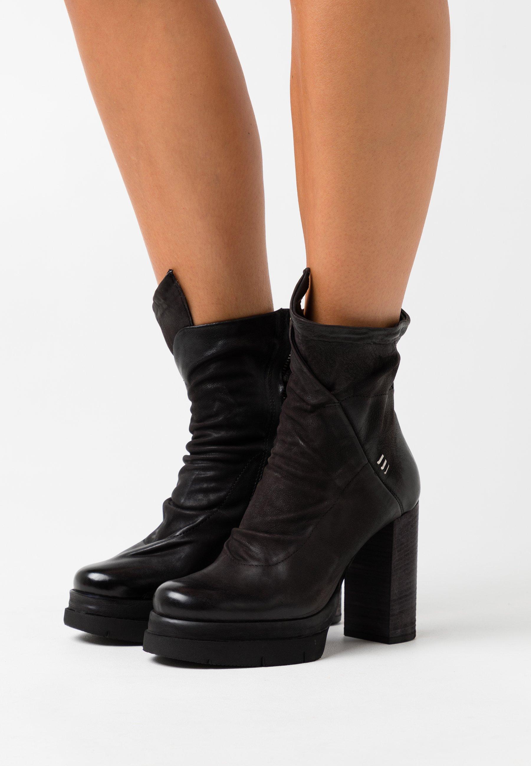 A.S.98 Plateaustiefelette - nero | Damen Schuhe 2020