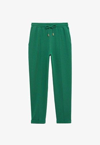Teplákové kalhoty - donkergroen