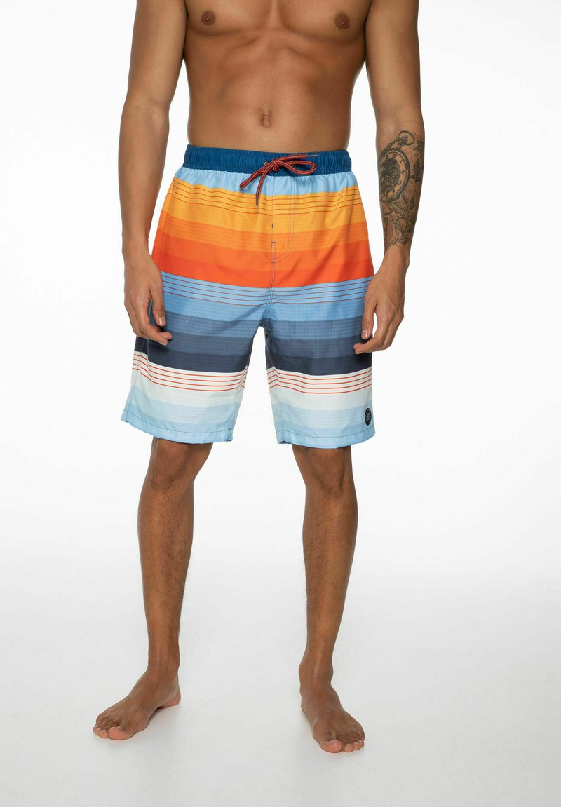 Protest - Swimming shorts - maroon
