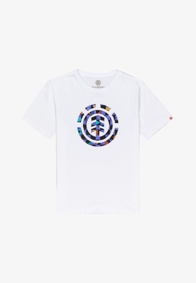 PRISM ICON - T-shirt print - optic white