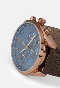 BOSS - CHAMPION - Chronograph watch - brown - 4