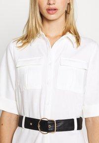4th & Reckless - LORI BELTED DRESS - Shirt dress - cream - 5