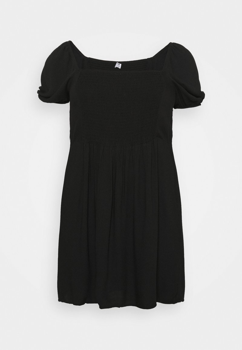 Cotton On Curve - LEONA BELL SLEEVE MINI DRESS - Vardagsklänning - black