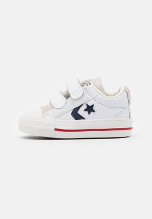 STAR PLAYER UNISEX - Baskets basses - white/midnight navy/gym red