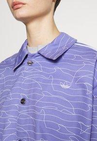 adidas Originals - JACKET - Cowboyjakker - light purple/white/silver met. - 5