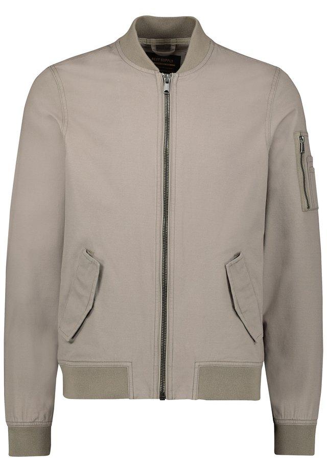 MA - Bomber Jacket - beige