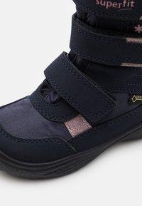 Superfit - CRYSTAL - Botas para la nieve - blau/rosa - 5