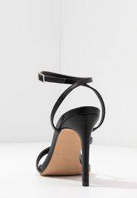 RAID - ROSIE - High heeled sandals - black - 5