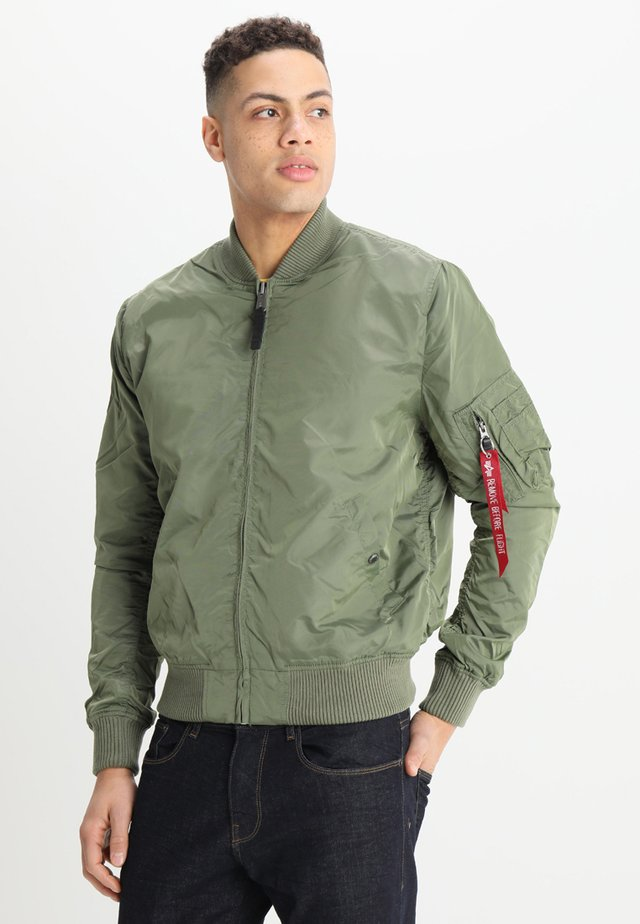Bomber Jacket - sage-green