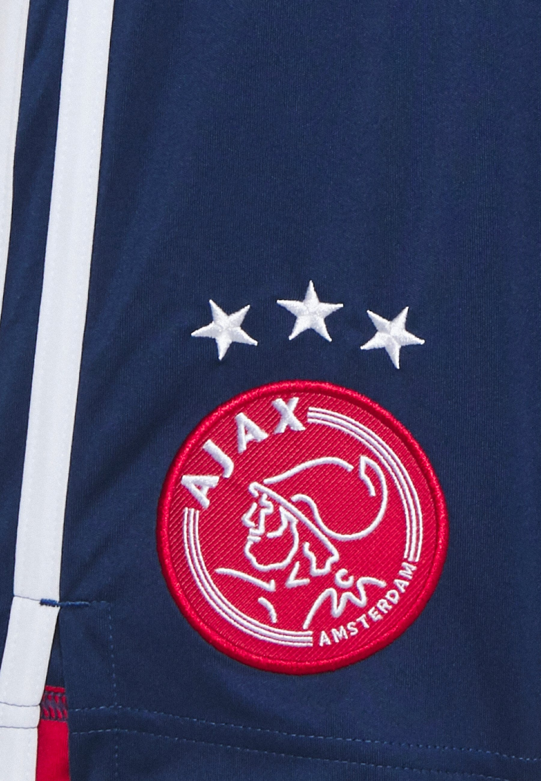 adidas Performance AJAX AMSTERDAM SPORTS FOOTBALL SHORTS - Krótkie spodenki sportowe - blue - Ubranka dla dzieci