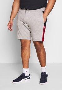 Tommy Hilfiger - INTARSIA  - Shorts - grey - 0