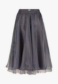 Vera Mont - A-line skirt - dunkelgrau - 0
