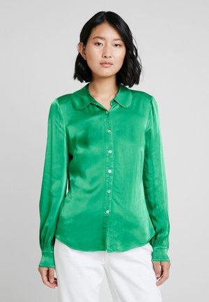 DAISY - Button-down blouse - green