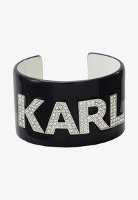 KARL LAGERFELD - CUFF - Bracelet - black - 1