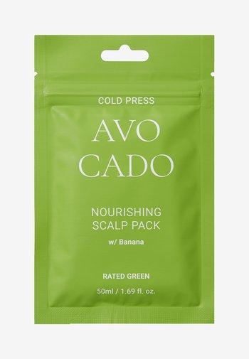 COLD PRESS AVOCADO NOURISHING SCALP PACK W/BANANA 2 PACK - Hair set - -