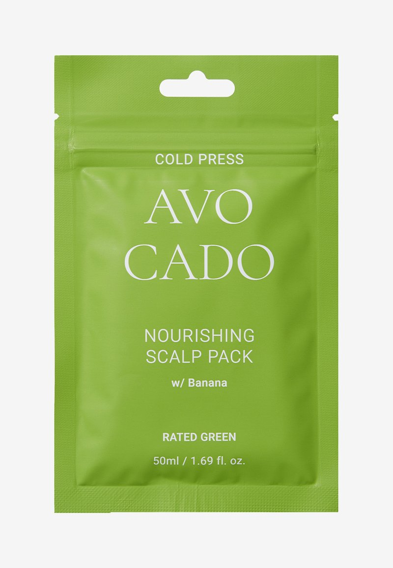 RATED GREEN - COLD PRESS AVOCADO NOURISHING SCALP PACK W/BANANA 2 PACK - Hair set - -