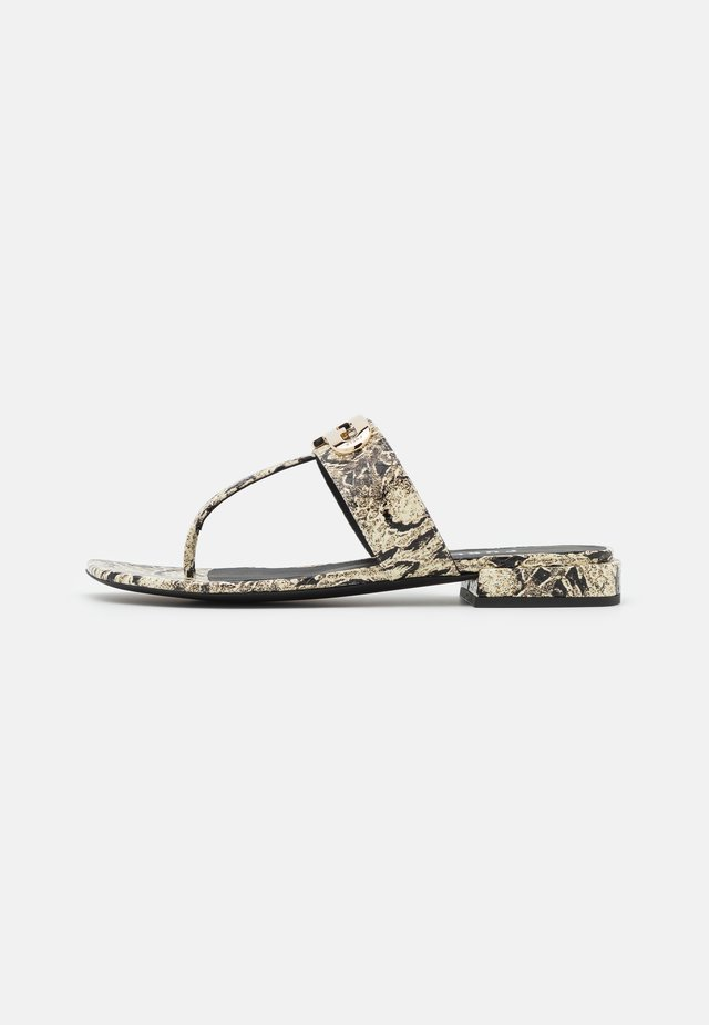 CHAIN THONG  - Japonki - light grey