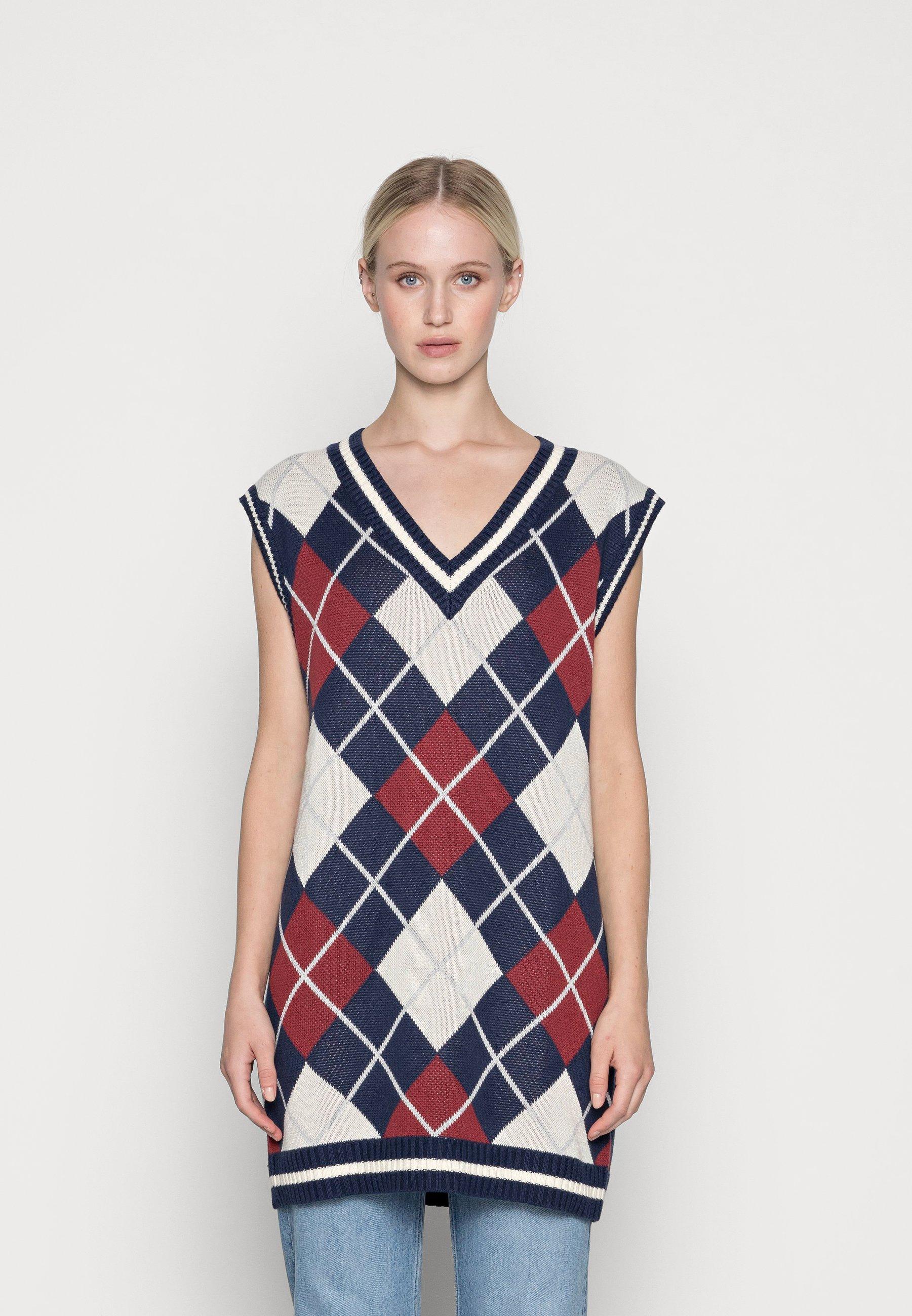 Damen NORTH VEST DRESS - Strickpullover