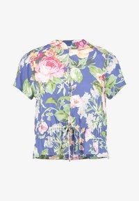 Rolla's - ELLA ROSE GARDEN BLOUSE - Button-down blouse - blue - 4