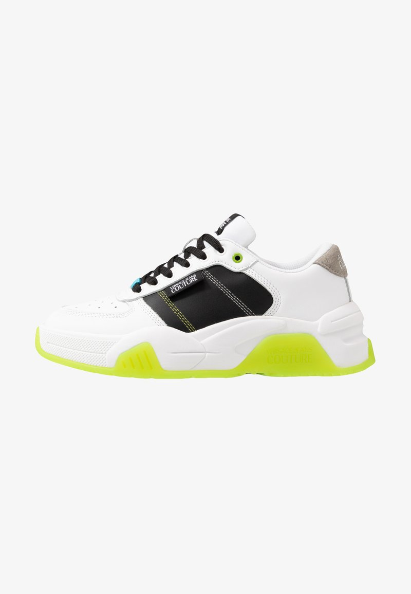 Versace Jeans Couture - Sneaker low - white/green