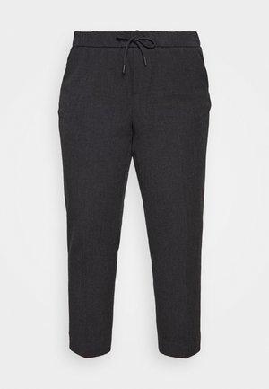 VMMAYA LOOSE STRING PANT - Pantaloni - dark grey melange