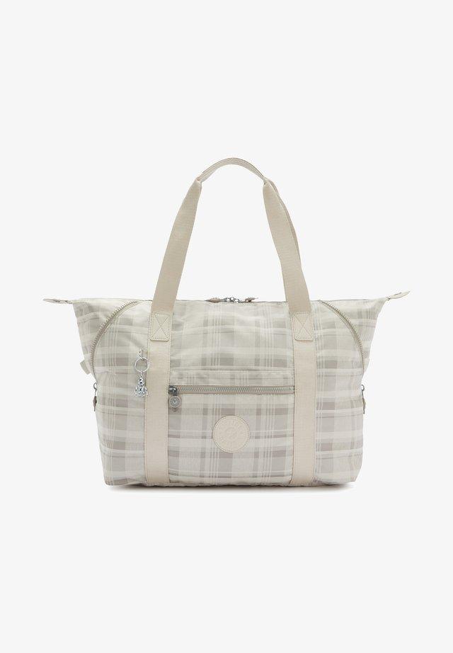 ART M - Shopping bag - soft plaid