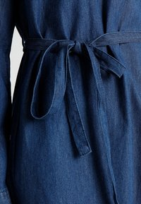 Cotton On - TAMMY LONG SLEEVE DRESS - Shirt dress - dark denim - 6
