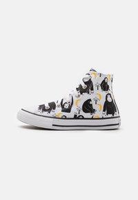 Converse - CHUCK TAYLOR ALL STAR JUNGLE FUN UNISEX - Sneakers hoog - white/black/yellow - 0