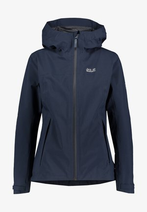 JWP SHELL - Waterproof jacket - marine