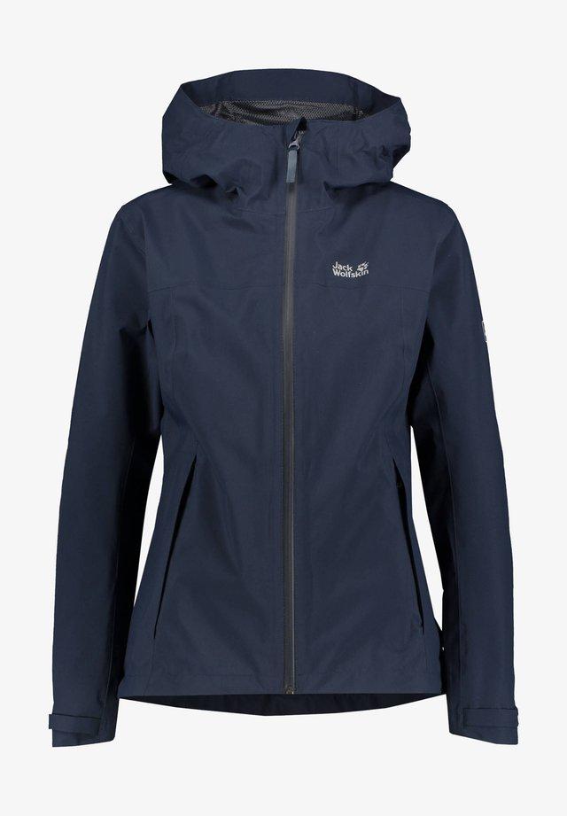 JWP SHELL - Waterproof jacket - marine