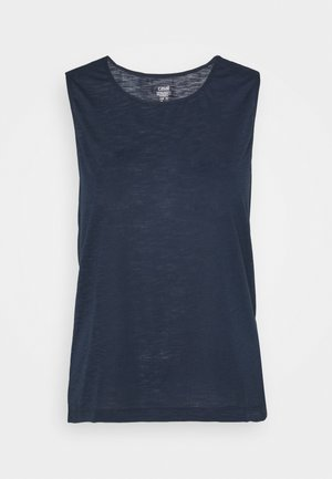 TANK - Top - midnight blue