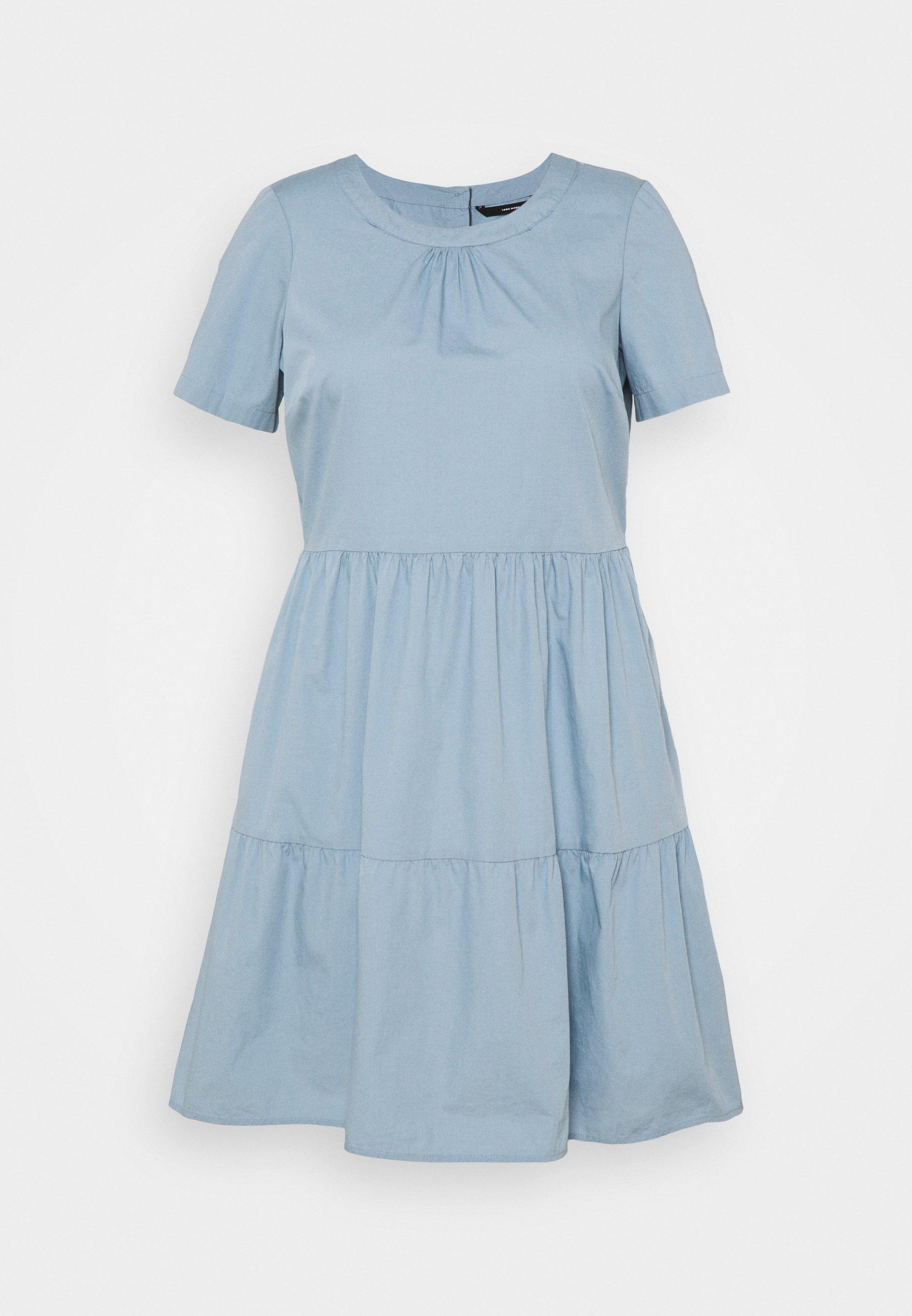 Women VMGULVA ABOVE KNEE DRESS - Day dress