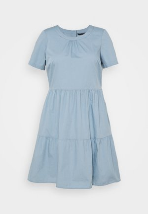 VMGULVA ABOVE KNEE DRESS - Day dress - blue fog